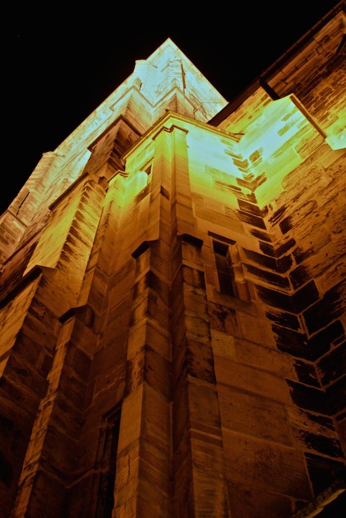 Heidelberg an der Heilig Geist Kirche